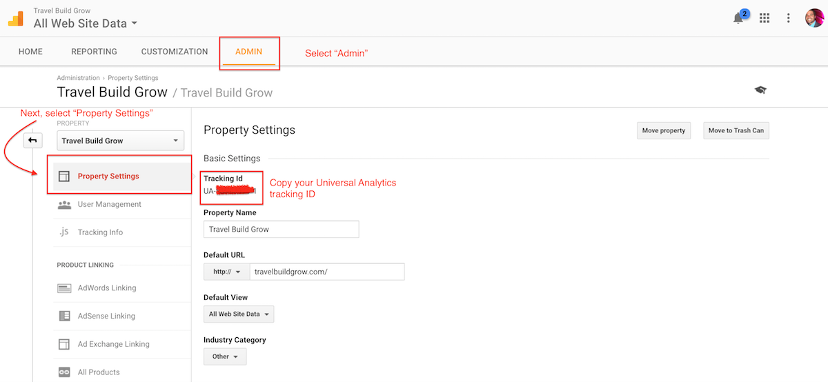 google-analytics-property-tracking-id